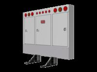 Cabinet Rack SQR CRNR RND LTS & mnt kit