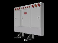 Cabinet Rack SQR CRNR OVL LTS & mnt kit