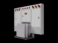 Cabinet Rack SQR CRNR OVL LTS TANK PREP & mnt kit