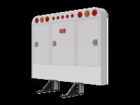 Cabinet Rack RND CRNR RND LTS & mnt kit