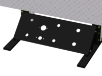 Airline Manifold Plate w/ hydraulics