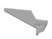 Fender BRKT Rear WS&FL Airliner H5 WT L glav
