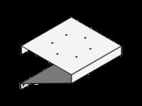 Satellite / Beacon Combo Bracket, SS