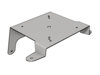 PB567 / KW880 Daycab Beacon Bracket, SS - L