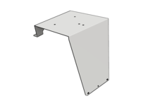 PB UltraCab Beacon Bracket, 2004+ newer, SS - L