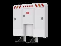 Cabinet Rack RND CRNR OVL LTS TANK PREP & mnt kit