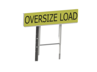 Air OVERSIZE LOAD Sign